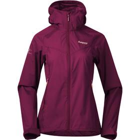 Bergans Microlight Jacket Women beet red